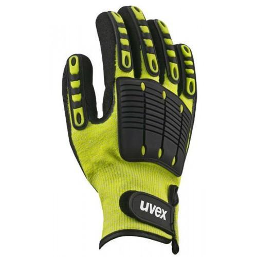 Бесшовные защитные перчатки uvex импакт 1