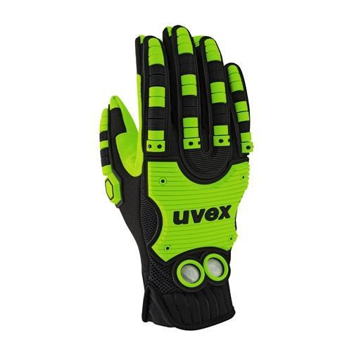 Бесшовные защитные перчатки uvex импакт 100